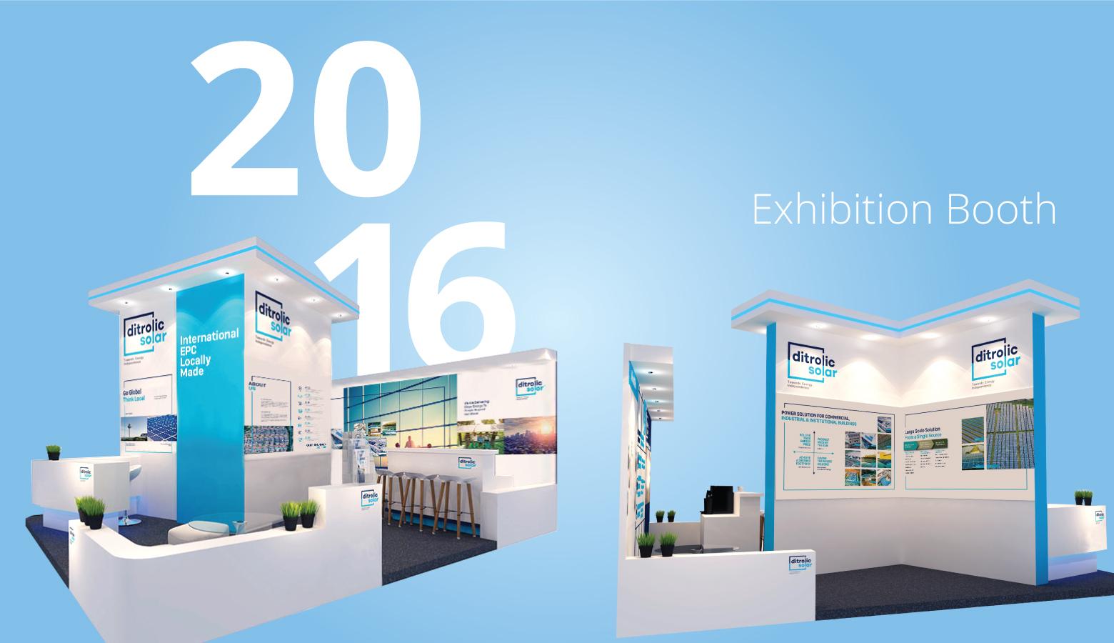 Ditrolic Solar exhibition booth